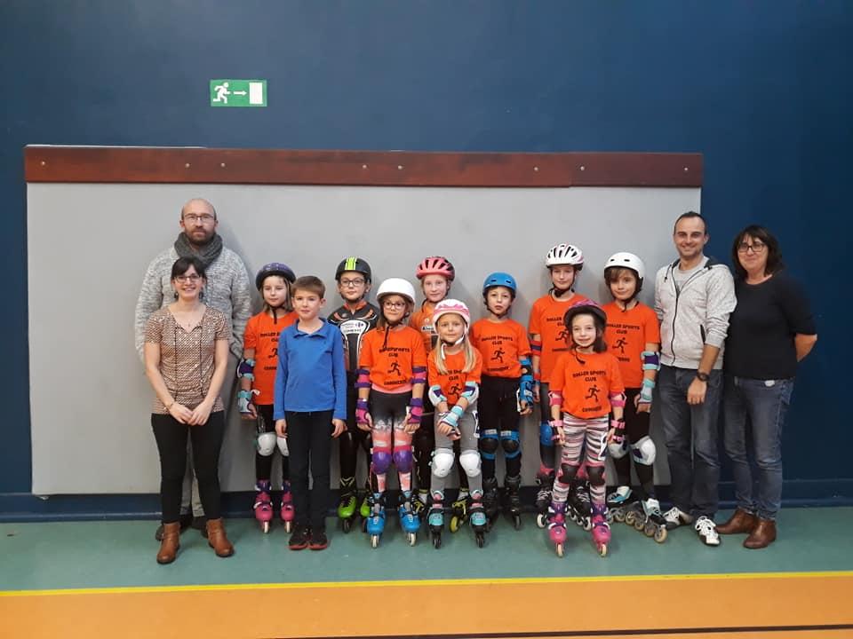 Les jeunes patineurs de Connerré
