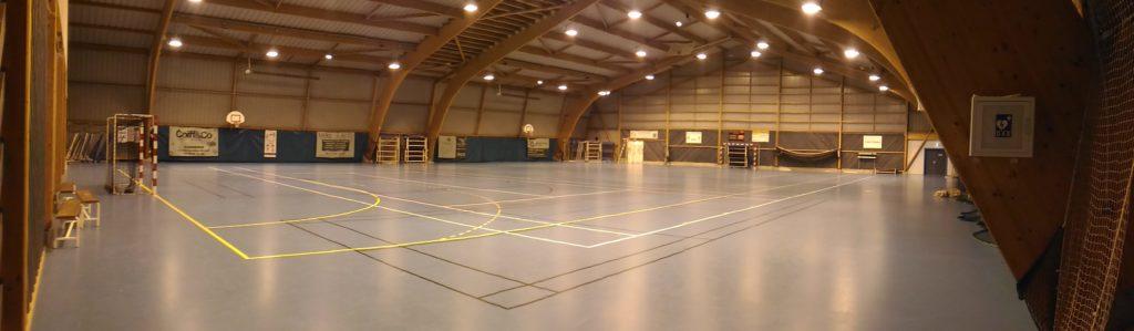 La salle Polaris du Roller Sport Club Connerré