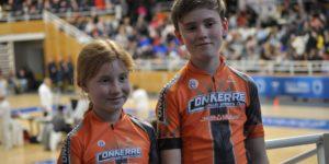 Les patineurs du Roller Sports Club Connerré à Saint-Brieuc